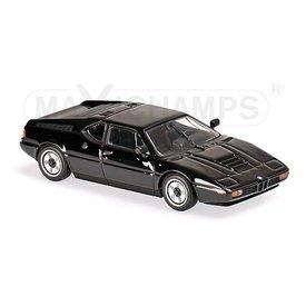 Maxichamps Model car BMW M1 1979 black 1:43