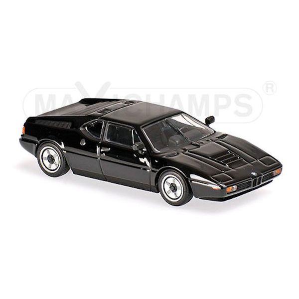 Modelauto BMW M1 1979 zwart 1:43