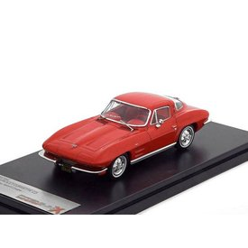Premium X Chevrolet Corvette C2 Stingray 1964 rood 1:43