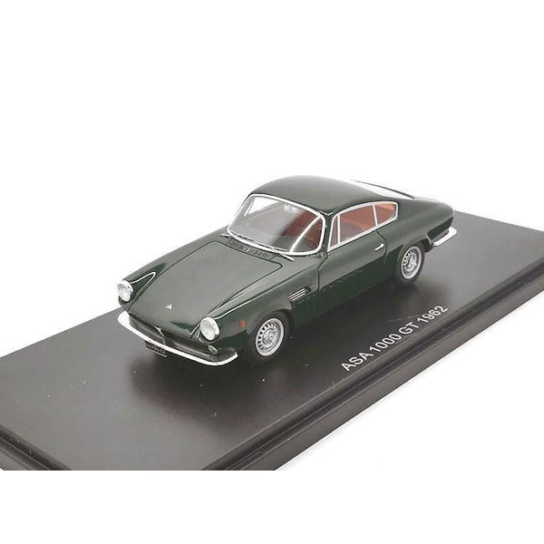 ASA 1000 GT 1962 dark green - Model car 1:43