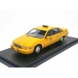 BoS Models (Best of Show) Chevrolet Caprice Sedan N.Y.C. Taxi 1991 - Modelauto 1:43