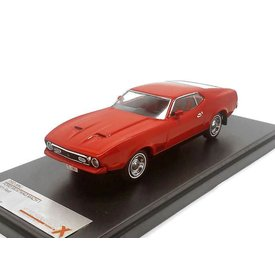 Premium X Ford Mustang Mach 1 1971 rood - Modelauto 1:43