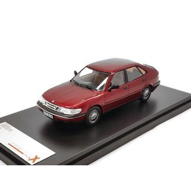Premium X Saab 900 V6 1994 burgundy - Model car 1:43