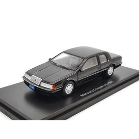 BoS Models (Best of Show) Mercury Cougar LS 1991 zwart - Modelauto 1:43