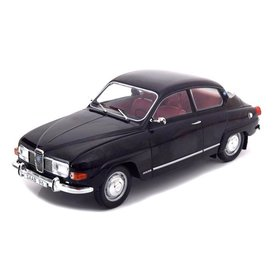 Modelcar Group Saab 96 V4 1971 black - Model car 1:18