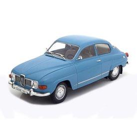Modelcar Group Saab 96 V4 1971 blauw - Modelauto 1:18