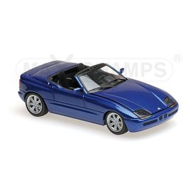 Maxichamps BMW Z1 (E30) 1991 blau metallic - Modellauto 1:43