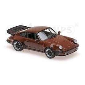 Maxichamps Porsche 911 Turbo 3.3 (930) 1979 braun - Modellauto 1:43