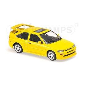 Maxichamps Ford Escort Cosworth 1992 yellow 1:43