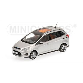 Minichamps Ford Grand C-Max 2010 silver - Model car 1:43