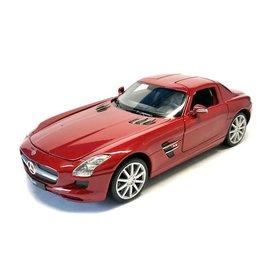 Welly Mercedes Benz SLS AMG red 1:24