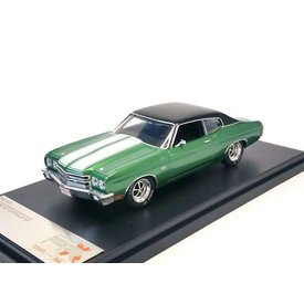 Premium X Chevrolet Chevelle SS 1970 green - Model car 1:43