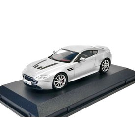 Oxford Diecast Aston Martin V12 Vantage S silver - Model car 1:43