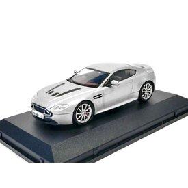 Oxford Diecast Model car Aston Martin V12 Vantage S silver 1:43