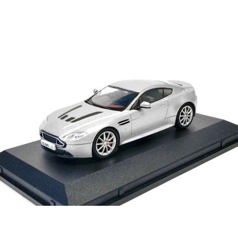 Aston Martin V12 Vantage S zilver - Modelauto 1:43