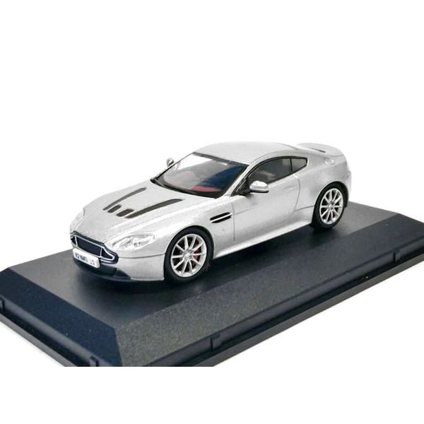 Model car Aston Martin V12 Vantage S silver 1:43
