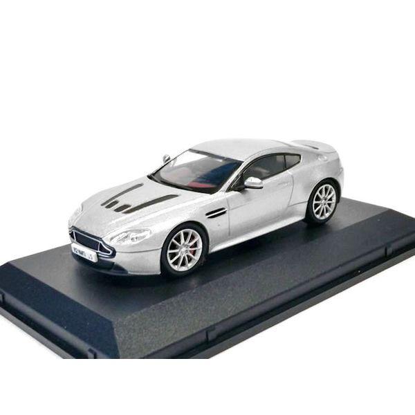 Modellauto Aston Martin V12 Vantage S silber 1:43