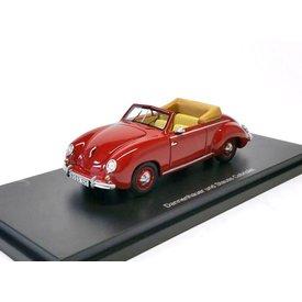 BoS Models Dannenhauer & Stauss (VW) Cabriolet rood 1:43