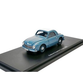 BoS Models (Best of Show) Gutbrod Superior Coupe 1953 blauw - Modelauto 1:43