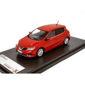 Premium X Nissan Pulsar 2015 red - Model car 1:43