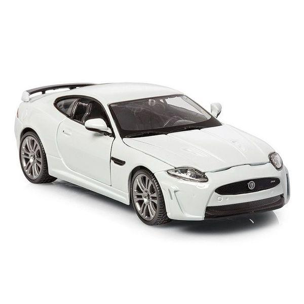 Modellauto Jaguar XKR-S weiß 1:24