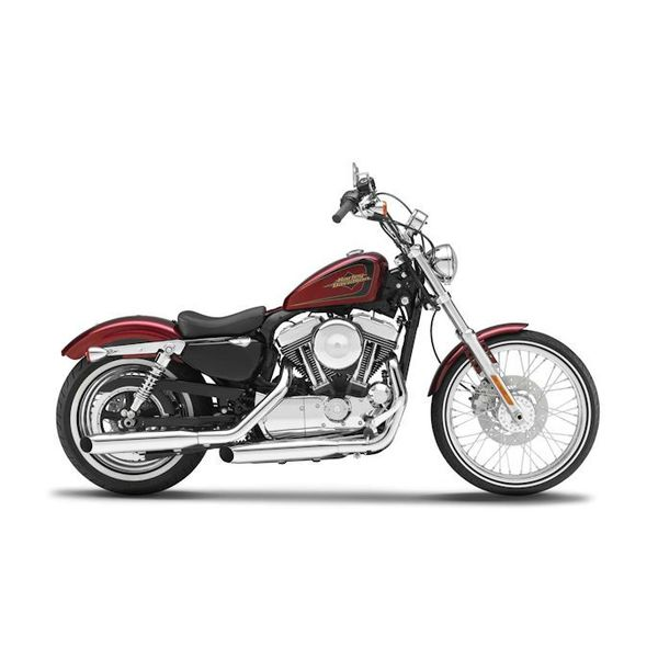 Modell-Motorrad Harley Davidson XL1200V Seventy Two 2012 rot 1:12
