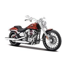 Maisto Modelmotor Harley-Davidson CVO Breakout 2014 oranje 1:12