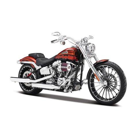 Harley Davidson CVO Breakout 2014 oranje - Modelmotor 1:12