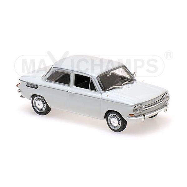 Modelauto NSU TT 1967 wit 1:43