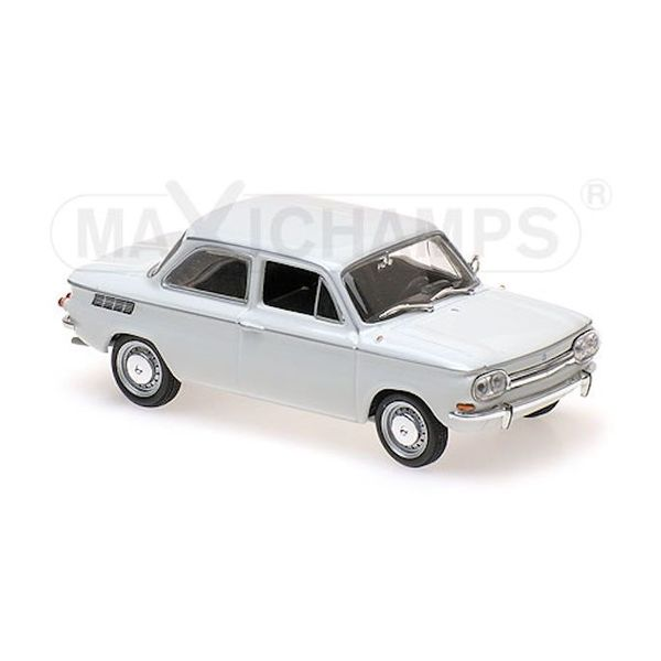 Modellauto NSU TT 1967 weiß 1:43