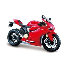 Maisto Ducati 1199 Panigale 2012 rood - Modelmotor 1:12