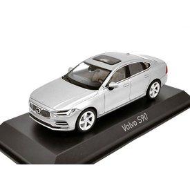 Norev Model car Volvo S90 2016 silver 1:43