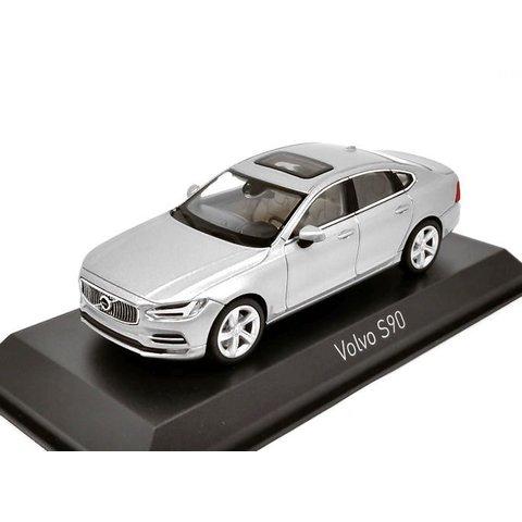 Volvo S90 2016 zilver - Modelauto 1:43
