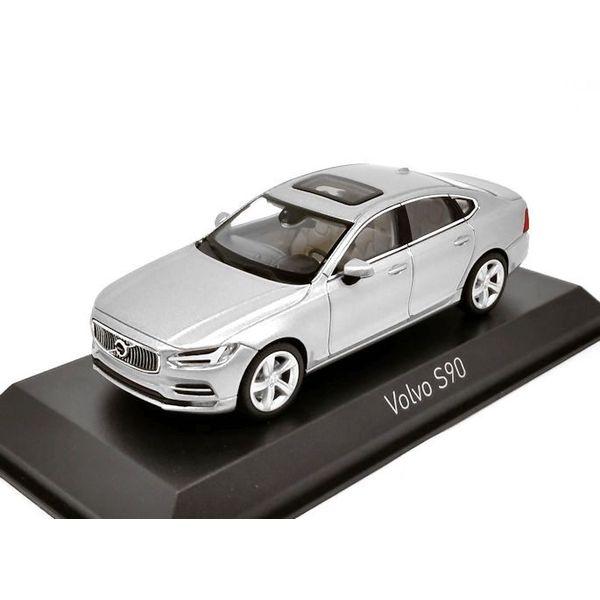 Model car Volvo S90 2016 silver 1:43   Norev