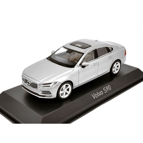 Modelauto Volvo S90 2016 zilver 1:43   Norev