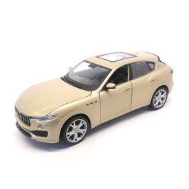 Bburago Maserati Levante gold - Model car 1:24