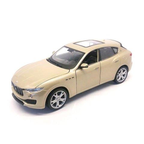 Maserati Levante gold - Model car 1:24