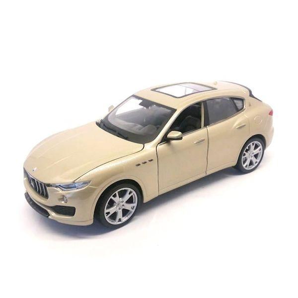 Modelauto Maserati Levante goud 1:24