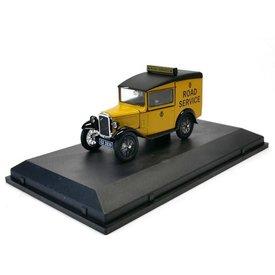 "Oxford Diecast Austin Seven RN Van ""Road Service"" - Modellauto 1:43"
