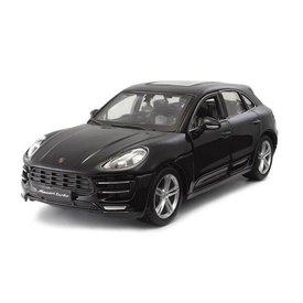 Bburago Porsche Macan schwarz - Modellauto 1:24