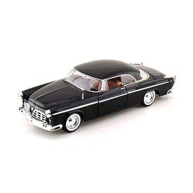 Motormax Chrysler C300 1955 zwart - Modelauto 1:24