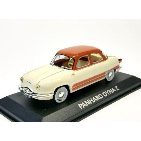 Panhard Dyna Z creme/braun - Modellauto 1:43