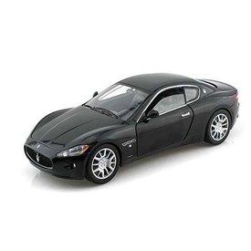 Motormax Maserati GranTurismo zwart - Modelauto 1:24
