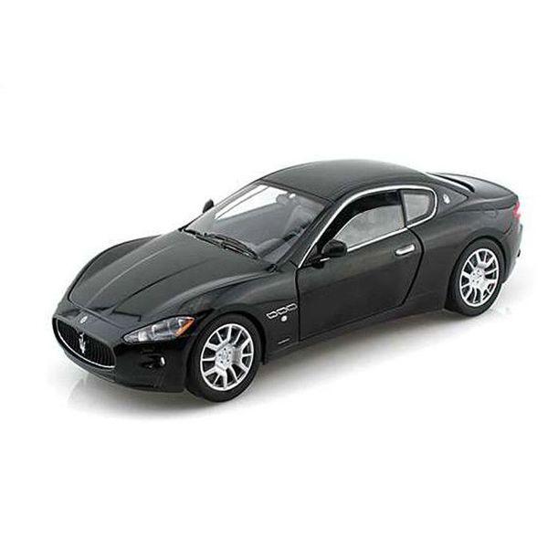 Modellauto Maserati GranTurismo schwarz 1:24