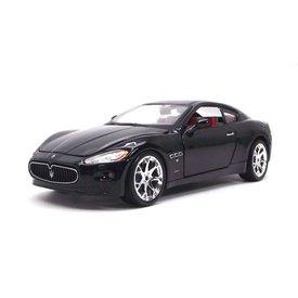 Bburago Maserati GranTurismo 2008 zwart - Modelauto 1:24