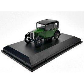 Oxford Diecast Austin Seven RN Saloon grün/schwarz 1:43