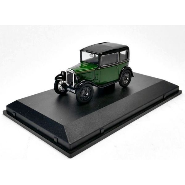 Model car Austin Seven RN Saloon green/black 1:43