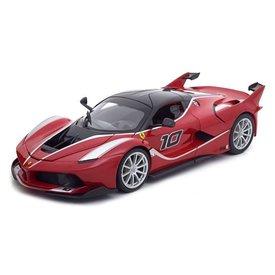 Bburago Modelauto Ferrari FXX K No. 10 rood 1:18 | Bburago