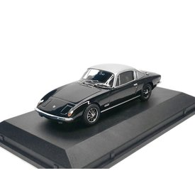 Oxford Diecast Lotus Elan +2 black/silver - Model car 1:43