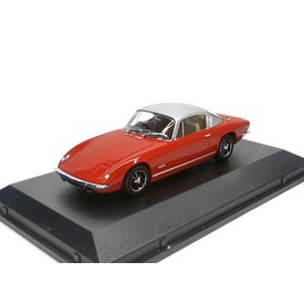 Oxford Diecast Lotus Elan +2 rood/zilver - Modelauto 1:43